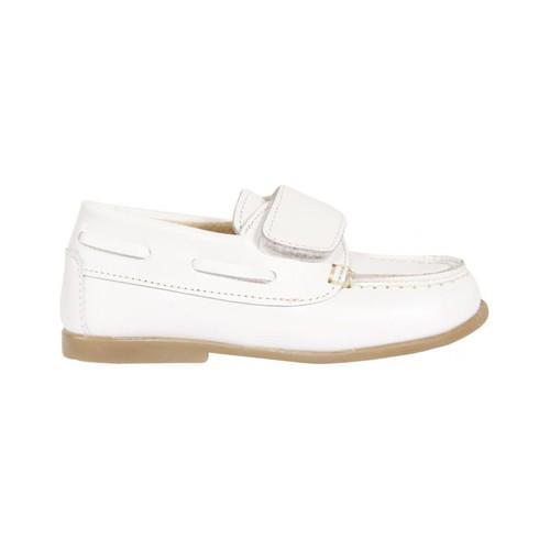 Sapatos Rapaz Sapato de vela Garatti PR0049 Blanco