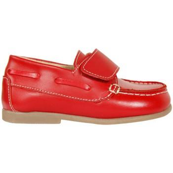 Sapatos Rapaz Sapato de vela Garatti PR0049 Rojo