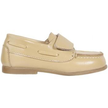 Sapatos Rapaz Sapato de vela Garatti PR0049 Beige