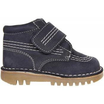 Sapatos Rapaz Botas baixas Garatti PR0045 Azul