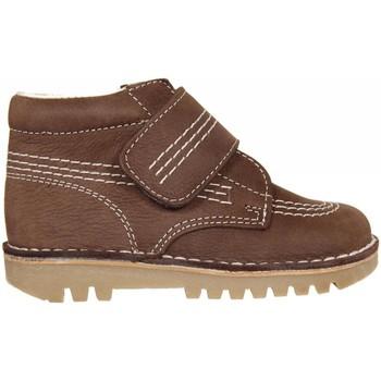Sapatos Rapaz Botas baixas Garatti PR0045 Marrón