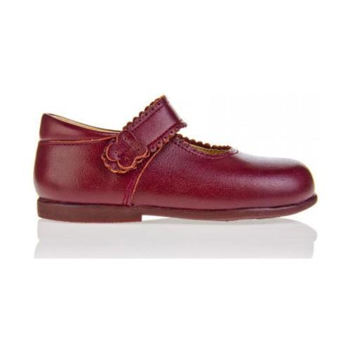 Sapatos Rapariga Sabrinas Garatti PR0043 DARK RED Rojo