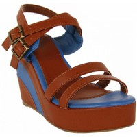 Sapatos Mulher Sandálias Top Way B040860-B7200 Marr?n
