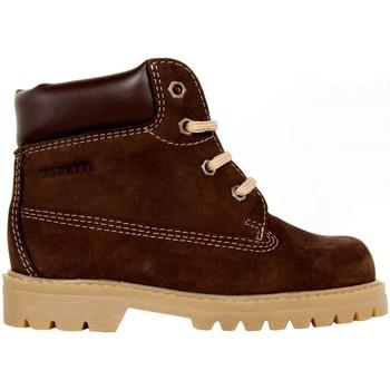 Sapatos Criança Botas baixas Garatti AN0075 Marrón