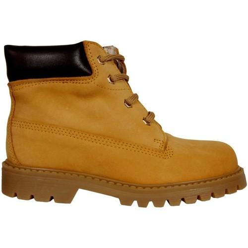Sapatos Criança Botas baixas Garatti AN0075 Amarillo