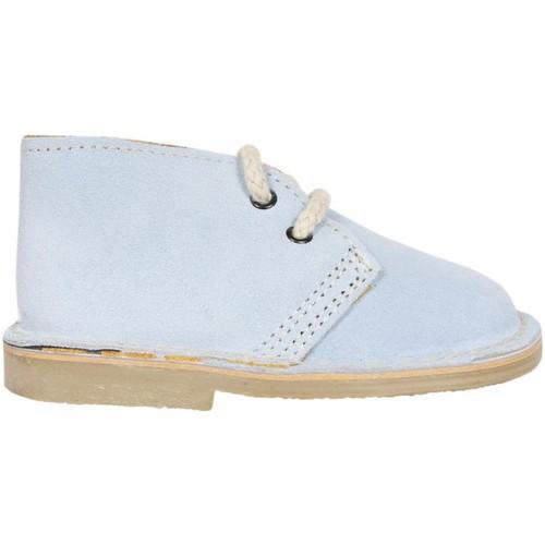Sapatos Criança Botas baixas Garatti PR0054 CELESTE Azul