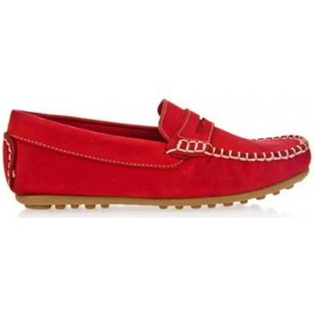 Sapatos Rapaz Mocassins Garatti AN0074 Rojo