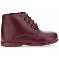 Sapatos Rapariga Botas baixas Garatti PR0053 DARK RED Rojo