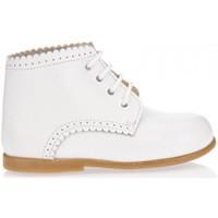 Sapatos Rapariga Botas baixas Garatti PR0053 WHITE Blanco