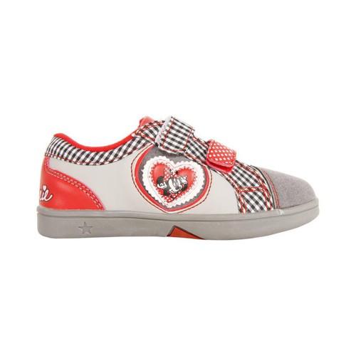 Sapatos Rapariga Sapatilhas Disney 2303-635 GRIS-ROJO 30 Gris