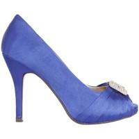 Sapatos Mulher Escarpim Glamour B038013-B7345 Azul