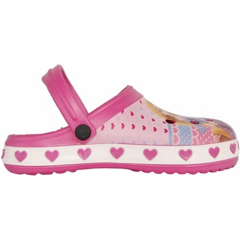 Sapatos Rapariga Chinelos Princesas WD7887 WHITE-PINK Rosa