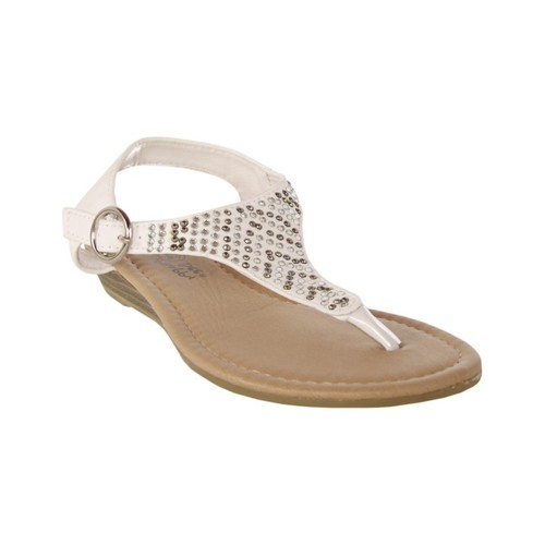 Sapatos Rapariga Sandálias Happy Bee B115782-B4600 Blanco