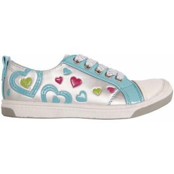 Sapatos Rapariga Sapatilhas Flower Girl 148711-B2040 Plateado