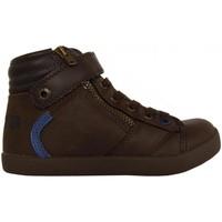Sapatos Rapaz Sapatilhas de cano-alto Levi's 381470-40 REBEL Marrón