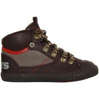 Sapatos Rapaz Sapatilhas de cano-alto Levi's 380920-40 HOLDER Marrón