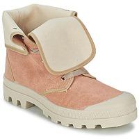 Sapatos Mulher Sapatilhas de cano-alto Casual Attitude BOPESSA Rosa