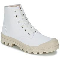 Sapatos Homem Sapatilhas de cano-alto Casual Attitude MADIMA Branco