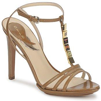 Sapatos Mulher Sandálias Etro 3443 Castanho