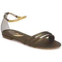 Sapatos Mulher Sandálias Etro 3461 Militar