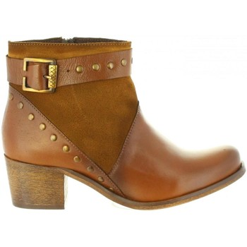 Sapatos Mulher Botas Cumbia 31085 Marr?n