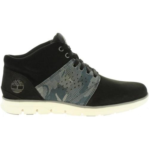 Sapatos Homem Botas baixas Timberland A1U1N BRADSTREET Negro