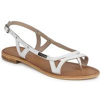 Sapatos Mulher Sandálias Les Tropéziennes par M Belarbi ISATIS Branco
