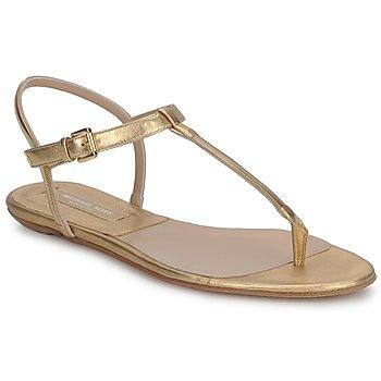 Sapatos Mulher Sandálias Michael Kors MK18017 Ouro