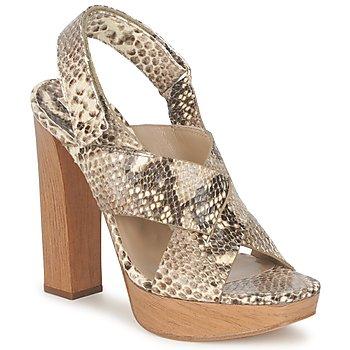 Sapatos Mulher Sandálias Michael Kors MK18072 Castanho
