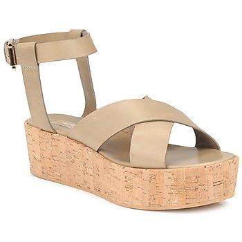 Sapatos Mulher Sandálias Michael Kors MK18132 Areia