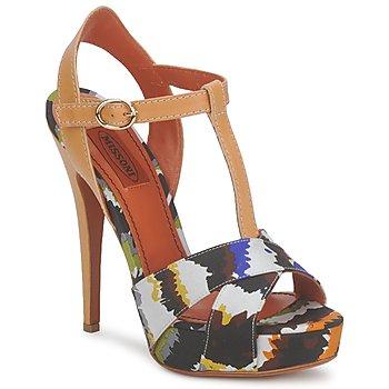 Sapatos Mulher Sandálias Missoni TM69 Multicolor