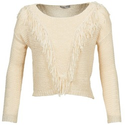 Textil Mulher camisolas Betty London CAZE Bege