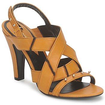 Sapatos Mulher Sandálias Karine Arabian DOLORES Açafrão-preto