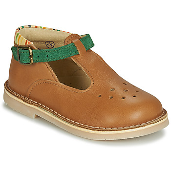 Sapatos Rapaz Sandálias André SUNSET Camel
