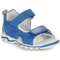 Sapatos Rapaz Sandálias André PLANCTON Azul
