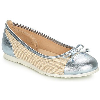 Sapatos Rapariga Sabrinas André RIVAGE Azul / Bege