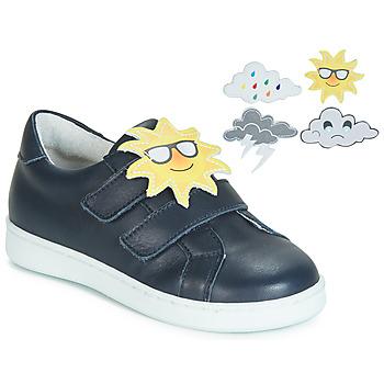 Sapatos Rapariga Sapatilhas de basquetebol André SAISONS Azul