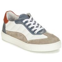 Sapatos Rapaz Sapatos André ALBATROS Branco
