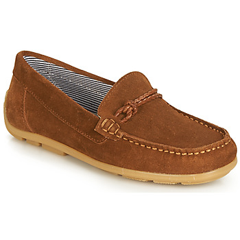 Sapatos Rapariga Sapatos André GASPARD Castanho
