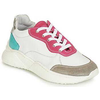 Sapatos Rapariga Sapatilhas André WENDY Branco / Vermelho / Azul