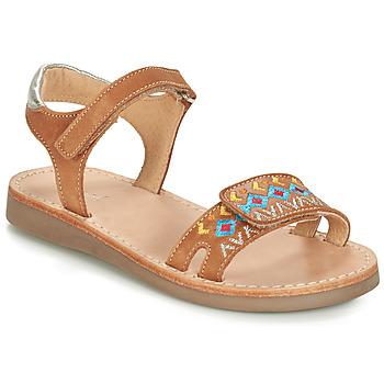 Sapatos Rapaz Sandálias André SEVILLE Camel