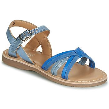 Sapatos Rapaz Sandálias André AZUR Azul