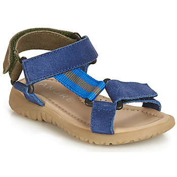 Sapatos Rapaz Sandálias André SUEZ Azul