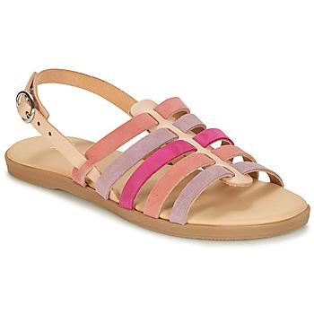 Sapatos Rapariga Sandálias André INDRA Rosa