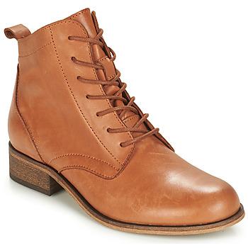 Sapatos Mulher Botas baixas André GODILLOT Camel