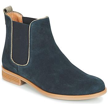 Sapatos Mulher Botas baixas André RIDER Azul