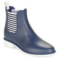 Sapatos Mulher Botas de borracha André SKIPPER Azul