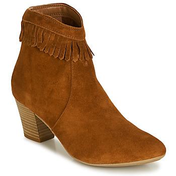 Sapatos Mulher Botins André RILAN Conhaque