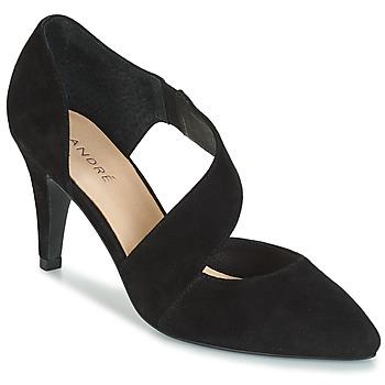 Sapatos Mulher Escarpim André SOIE Preto