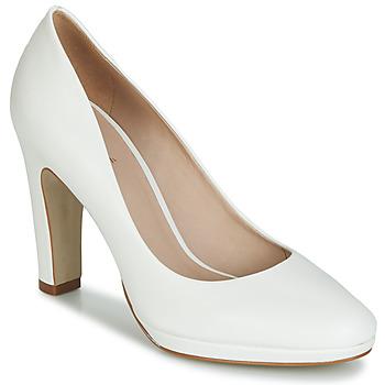 Sapatos Mulher Escarpim André CALI Branco